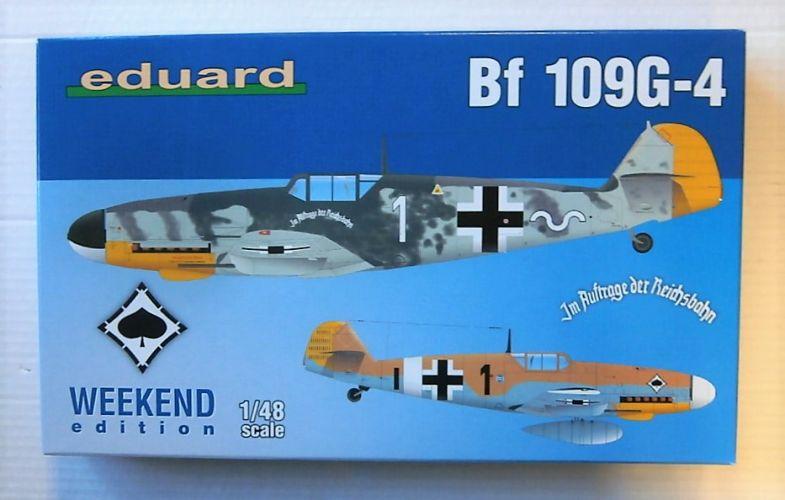 EDUARD 1/48 84149 BF 109G-4 WEEKEND EDITION