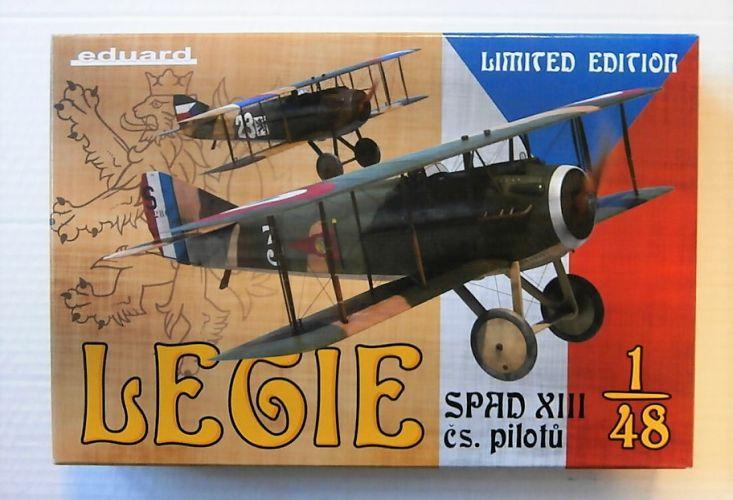 EDUARD 1/48 11123 LEGIE SPAD XIII CS PILOTU LIMITED EDITION