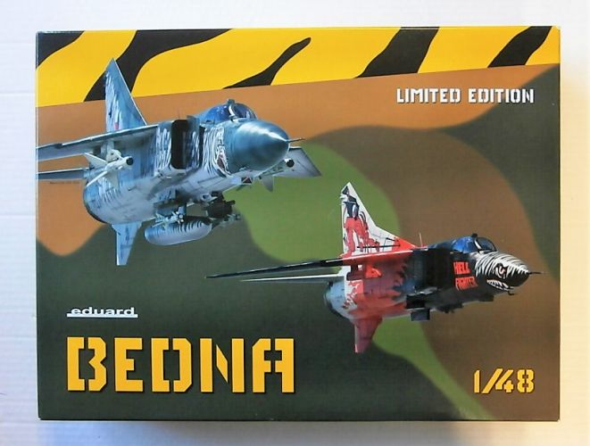 EDUARD 1/48 11120 BEDNA MIG-23MF/ML IN CZECH SERVICE LIMITED EDITION