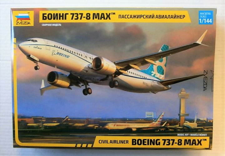ZVEZDA 1/144 7026 BOEING 737-8 MAX