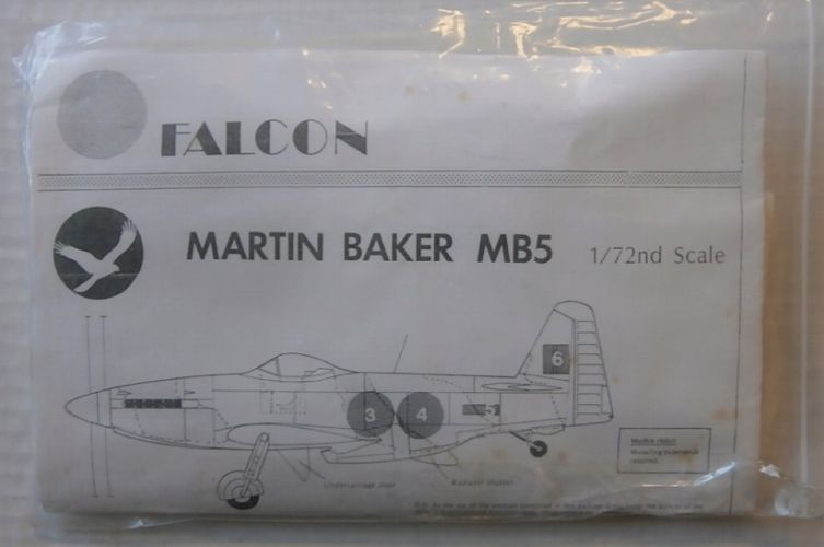 FALCON 1/72 MARTIN BAKER MB5