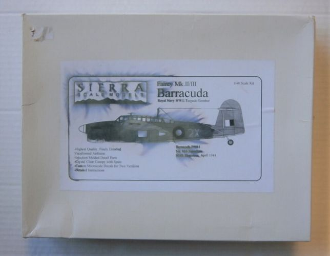 SIERRA 1/48 48-47 FAIREY BARRACUDA  MK.II/III