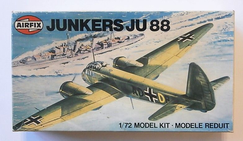 AIRFIX 1/72 03007 JUNKERS Ju 88A-4
