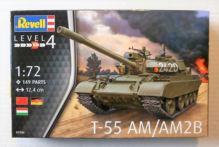 REVELL 1/72 03306 T-55 AM/AM2B