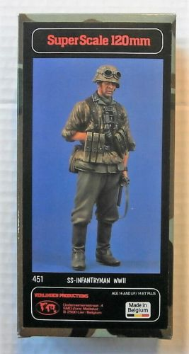 VERLINDEN PRODUCTIONS 1/16 451 SS-INFANTRYMAN WWII