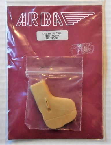 ARBA 1/48 TA 152 TAIL FOR TAMIYA FW 190-D9