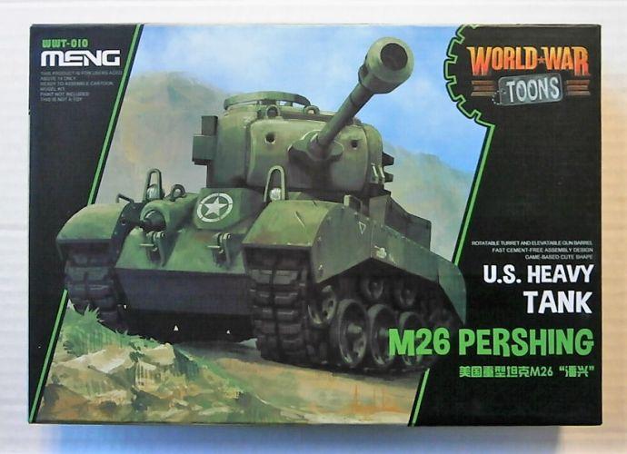 MENG  WWT-010 M26 PERSHING U.S HEAVY TANK