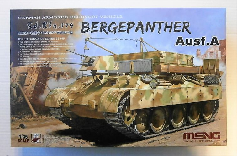 MENG 1/35 SS-015 SD.KFZ.179 BERGEPANTHER AUSF.A
