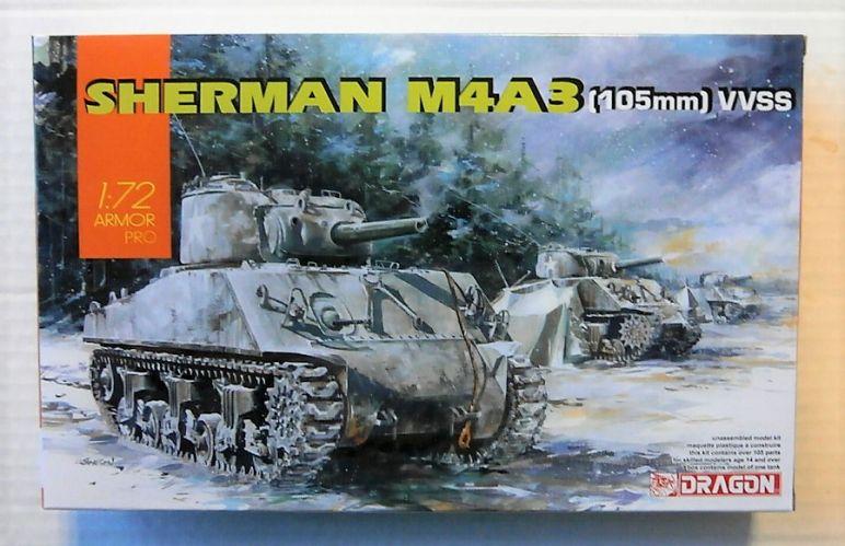 DRAGON 1/72 7569 HERMAN M4A3  105mm  VVSS