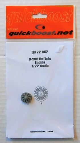 QUICKBOOST.NET 1/72 72052 B-239 BUFFALO ENGINE