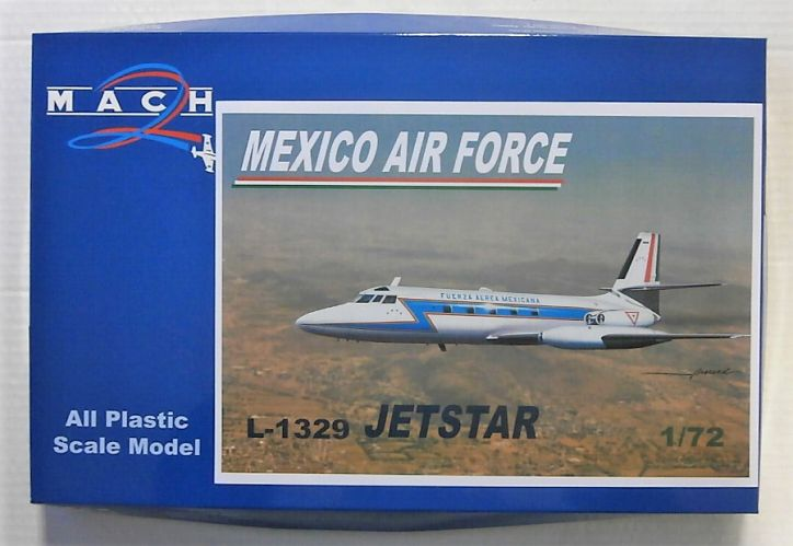 MACH 1/72 GP105 L-1329 JETSTAR - MEXICO AIR FORCE