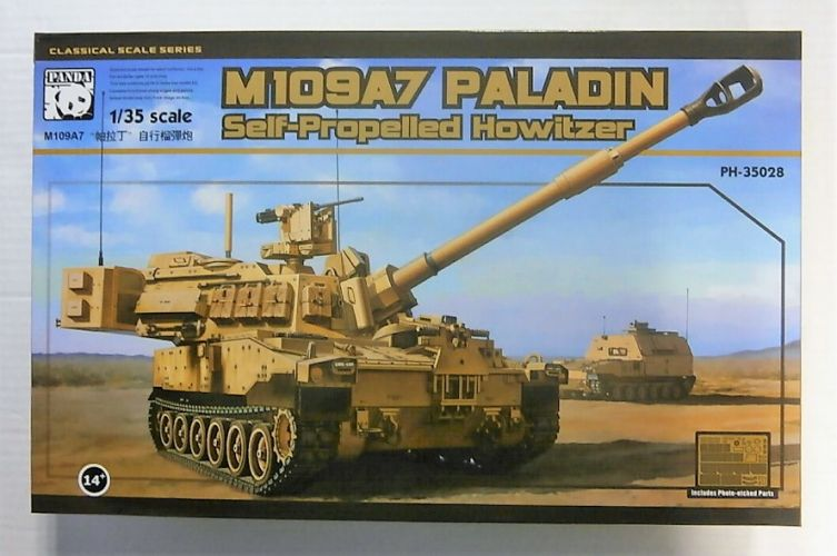 PANDA 1/35 35028 M109A7 PALADIN SELF-PROPELLED HOWITZER