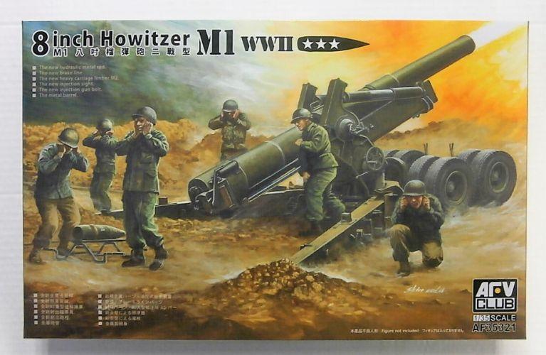 AFV CLUB 1/35 35321 M1 WWII 8 INCH HOWITZER