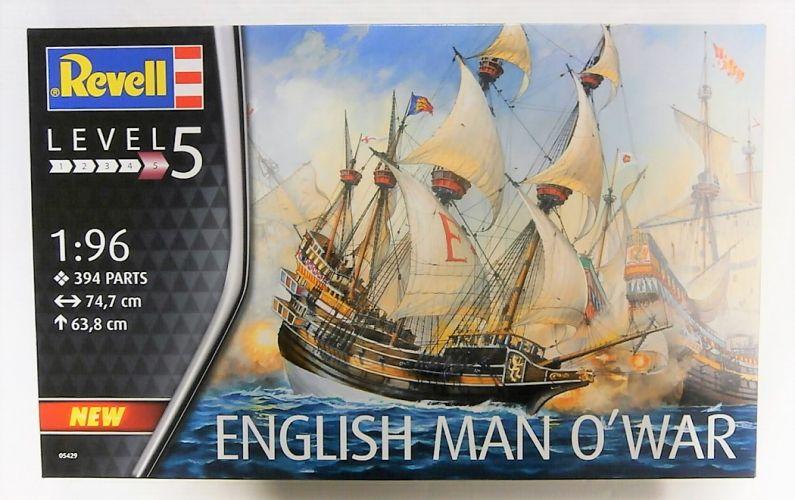 REVELL 1/96 05429 ENGLISH MAN O WAR