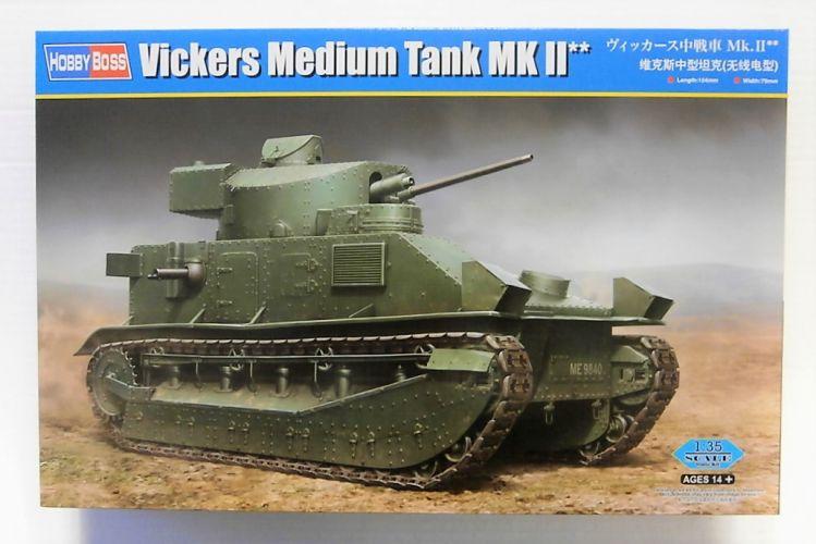 HOBBYBOSS 1/35 83881 VICKERS MEDIUM TANK Mk II