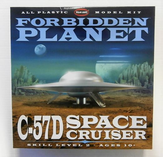 POLAR LIGHTS  895 FORBIDDEN PLANET C-57D SPACE CRUISER
