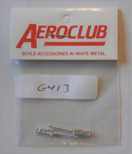 AEROCLUB 1/48 G413  2 x BROWNING .303 GUNS
