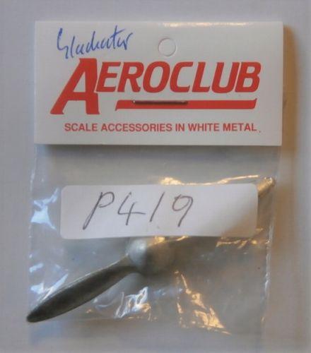 AEROCLUB 1/48 P419 2 BLADE GLADIATOR PROP