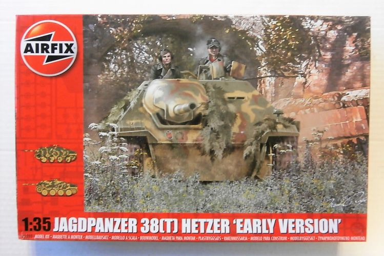 AIRFIX 1/35 1355 JAGDPANZER 38 T  HETZER EARLY VERSION