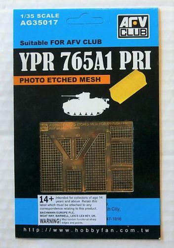 AFV CLUB 1/35 35017 YPR 765A1 PRI PHOTO ETCHED MESH