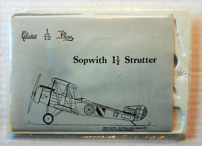 CLASSIC PLANE  SOPWITH 1 1/2 STRUTTER