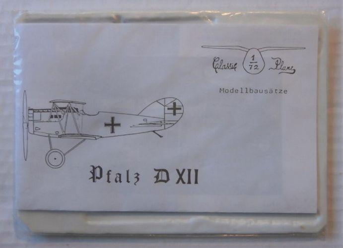CLASSIC PLANE 1/72 PFALZ D XII