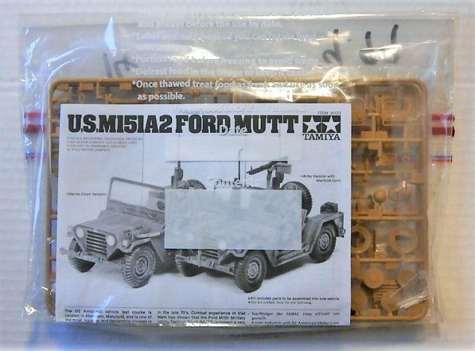 TAMIYA 1/35 BK14 35123 U.S. M151A2 FORD MUTT  NO BOX