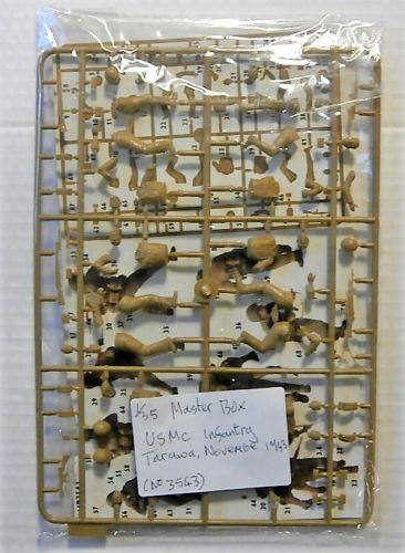 MASTERBOX 1/35 BK73 3543 BLOODY ATOLL SERIES USMC TARAWA NOVEMBER 1943  NO BOX