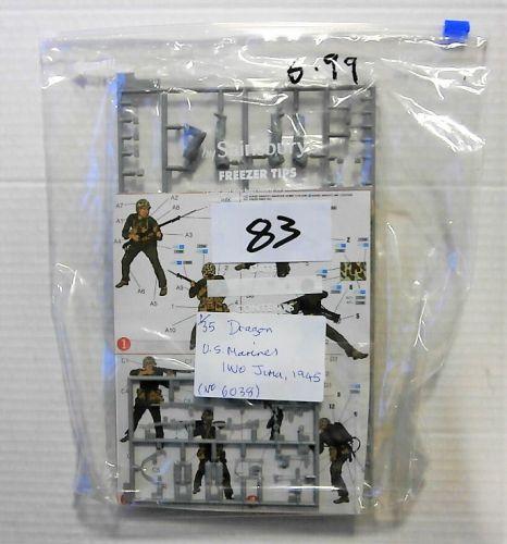 DRAGON 1/35 BK83 US MARINES IWO JIMA 1945  NO BOX