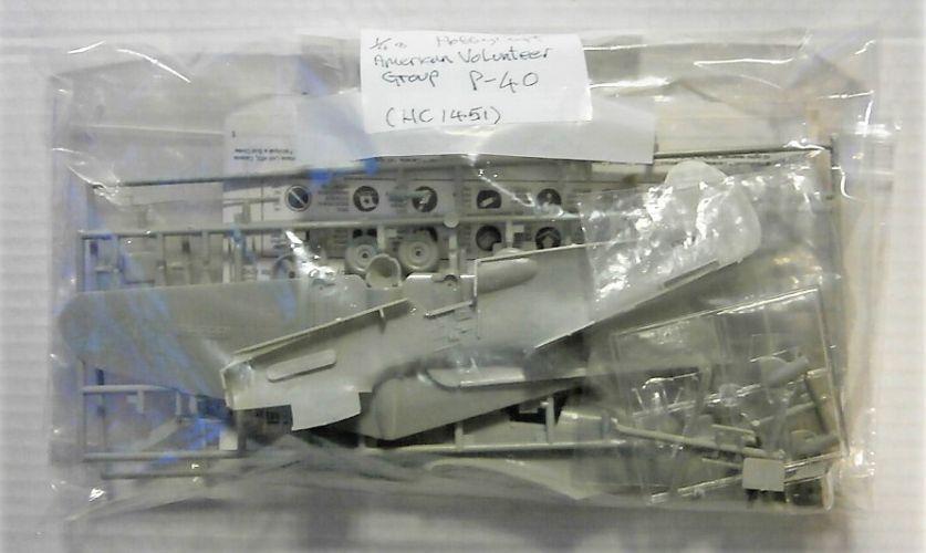 HOBBYCRAFT 1/48 BK88 1451 AVG P-40  NO BOX