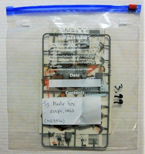 MASTERBOX 1/35 BK51 3514 EUROPE 1945  NO BOX