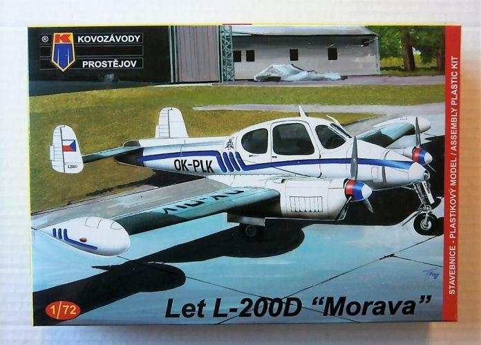 KP 1/72 0090 LET L-200D MORAVA