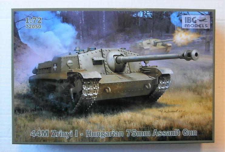 IBG MODELS 1/72 72050 40 M ZRINYI I HUNGARIAN 75mm ASSAULT GUN