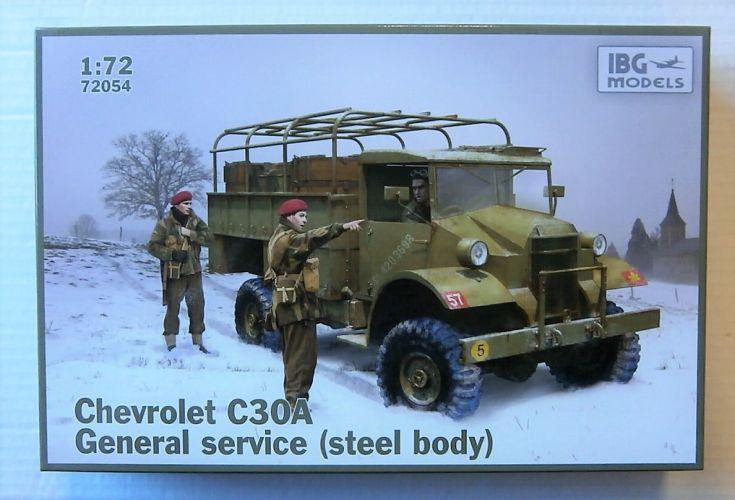 IBG MODELS 1/72 72054 CHEVROLET C30A GENERAL SERVICE  STEEL BODY