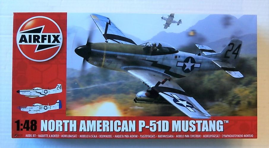 AIRFIX 1/48 05131 NORTH AMERICAN P-51D MUSTANG