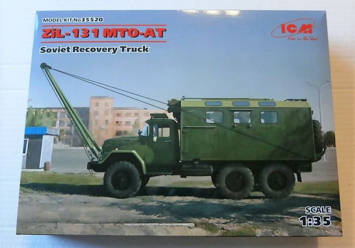 ICM 1/35 35520 ZiL-131 MTO-AT SOVIET RECOVERY TRUCK
