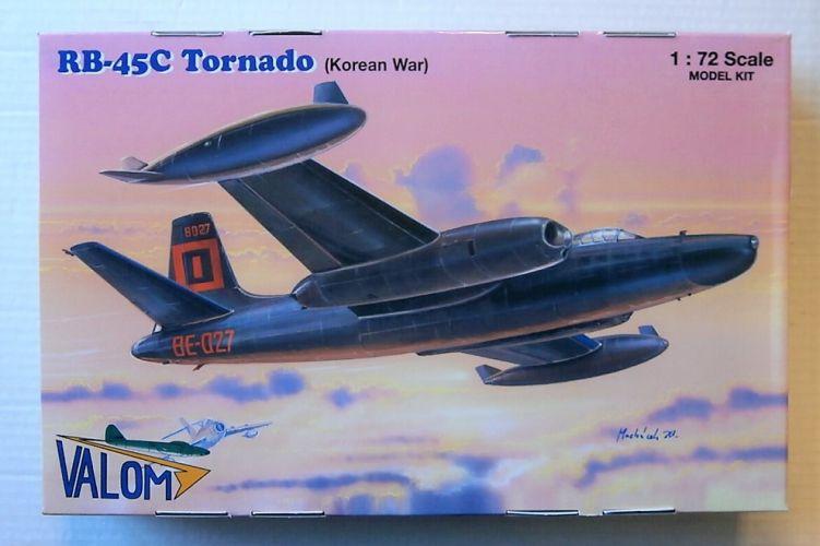 VALOM 1/72 72125 RB-45C TORNADO  KOREAN WAR