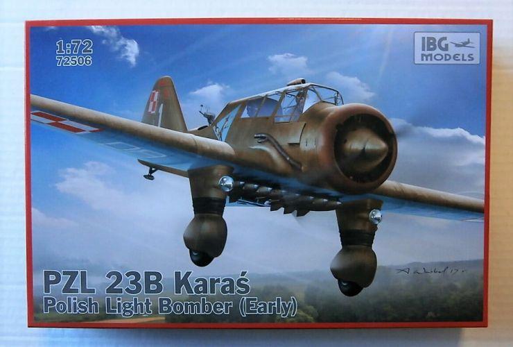 IBG MODELS 1/72 72506 PZL 23 KARAS POLISH LIGHT BOMBER - EARLY