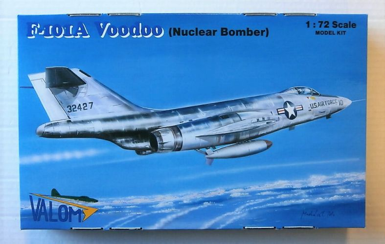 VALOM 1/72 72124 F-101A VODOO  NUCLEAR BOMBER
