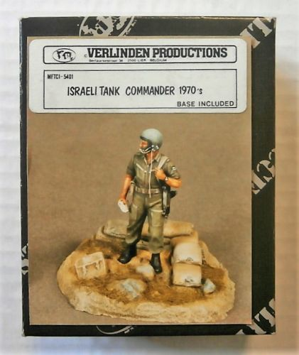 VERLINDEN PRODUCTIONS 1/35 5401 ISRAELI TANK COMMANDER 1970s
