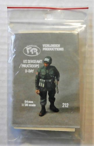 VERLINDEN PRODUCTIONS 1/35 212 US SERGEANT/ PARATROOPS D-DAY