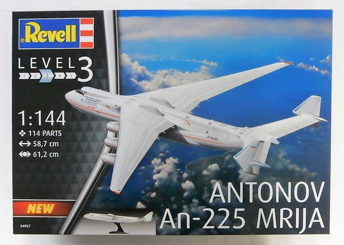 REVELL 1/144 04957 ANTONOV AN-225 MRIJA  UK SALE ONLY