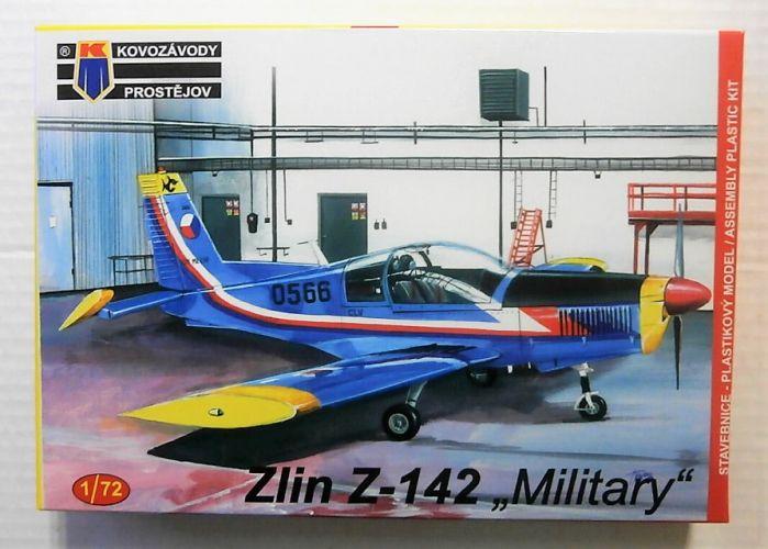 KP 1/72 0143 ZLIN Z-142 MILITARY