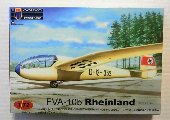 KP 1/72 0153 FVA-10B RHEINLAND GERMAN SERVICE