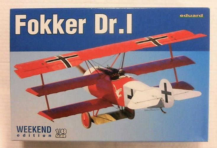 EDUARD 1/48 8487 FOKKER DR.1 WEEKEND EDITION