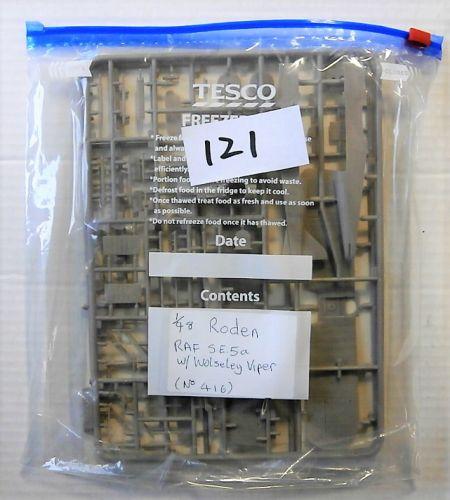 RODEN 1/48 BK121 416 RAF S.E.5a w WOLSELEY VIPER  NO BOX