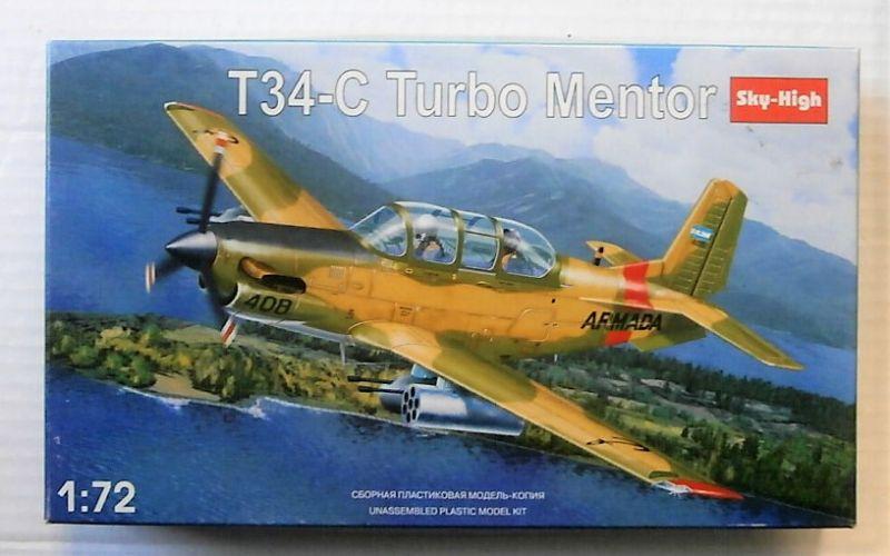 SKY-HIGH 1/72 7225 T-34C TURBO MENTOR