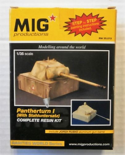 MIG PRODUCTIONS 1/35 35013 PANTHERTURN I  WITH STAHLUNTERSATZ