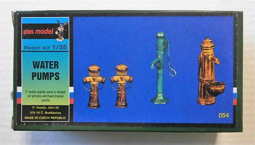 PLUS MODEL 1/35 054 WATER PUMPS