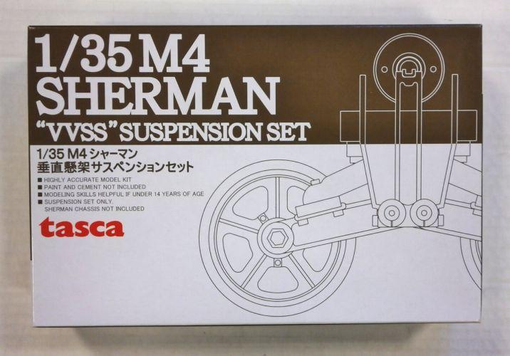 TASCA 1/35 35-015 M4 SHERMAN VVSS SUSPENSION SET